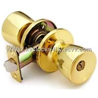 Tubular door lock