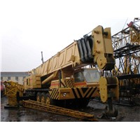 Used GROOVE 140TON FULLY HYDRAULIC TRUCK CRANE