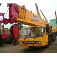 used truck crane KATO and TADANO