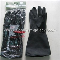 latex industry gloves