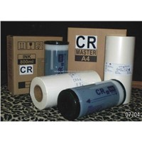 Master Roll and Ink for Riso CR Machine