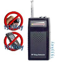 Wireless Bug and Surveillance Signal Detector