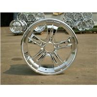 Auto Colored dry Chrome/Aluminium Wheals
