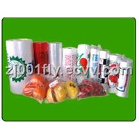 Food fruit bags on roll