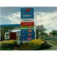 GAS PRICE DISPLAY