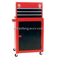 Metal tool chest and cabinet