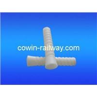 Railway screw inserts