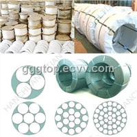 Zinc-Coated Steel Wire Strands. Unbonded Strand Wire. Tyre Bead Wire