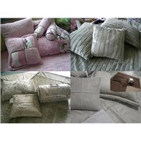 faux fur bedding set