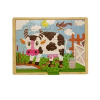 jigsaw Puzzles-cow