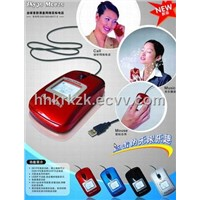 skype mouse,mouse skype phone,usb mouse,voip mouse,mouse speaker