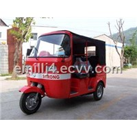 Bajaj reinforced passenger tricycle CK150ZK-1,gasoline/CNG