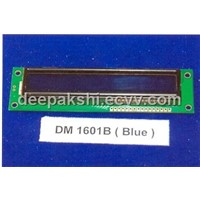 DM 1601B (BLUE) LCD MODULE