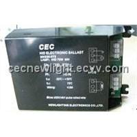 230V~70Welectronic ballast for Metal Halide