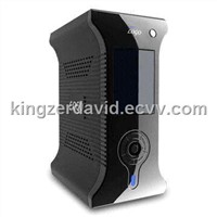 3.5-inch 1,080p High Definition HDD Player with LCD and Peer-to-Peer Internet TV