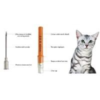 Veterinary Aluminum Hub Needles