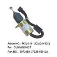 Auto-stop magnetic valve