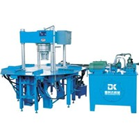 DK-150curb brick and color brick hydraulis forming machine