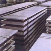 Hot-rolled plate