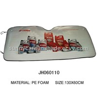 PE Foam with Aluminium Foil of Car Front Window Sunshade