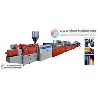 PVC Foaming Shape Molding Production Line