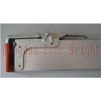 Parting wall lock