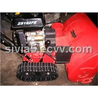 Rubber track for Snow-cleaning vehicle