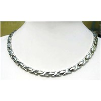 Stainless Steel Magnetic Necklace
