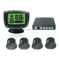 Wireless 3-color LCD Parking Sensor System with 4 Sensors---PSW8000