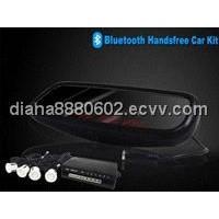 bluetooth handsfree car kit with parking sensor