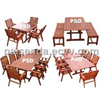 garden furniture outdoor table teak-2