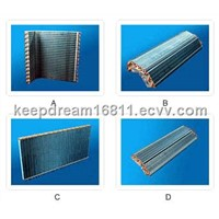 Indoor and Outdoor Air Exchanger of Air-Conditioner