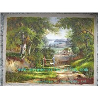 oil painting, landscape oil painting, classical oil painting