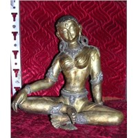 Gold Plated Statue
