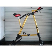 A-Bike,Mini bike, folding bike, folded bike