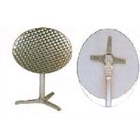 Aluminum steel table
