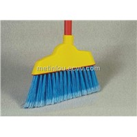 Broom with Painted Handle, 115cm Long
