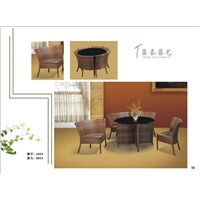 Provide Coffe Rattan  table,chair furniture