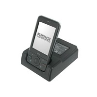 Desktop cradle with battery slot for HTC P3470
