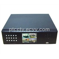 H.264 Standalone network DVR Built-in LCD