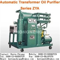 Highly Effective Vacuum Transformer Oil Purifier/ Oil Regeneration System/ Oil Purification Machine