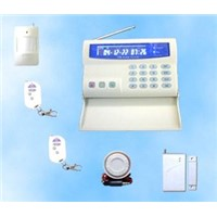Intelligent GSM Home Alarm System With LCD Color Display PST-GSM-02