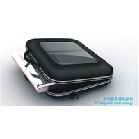 Laptop solar charger bag