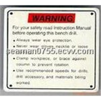 Printing of Nameplates/ Scutcheons/ Rubber Patch/ Adhesive Plates/ Lens