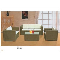 Offer PE  Rattan sofa wicker  furniture