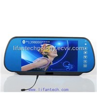 Rear view Monitor with bluetooth