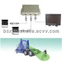 Single or Twin-camera Rearview Systems, Suitable for Camera/DVD/VCD Player