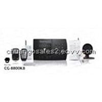 Wireless Intruder Alarm System with ADEMCO CID (CG-8800K8/CID)