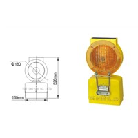 Solar warning light, traffic Light