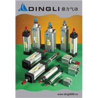 Standard cylinder, Alumnium mini cylinder, stainless steel cylinder,thin type cylinder
